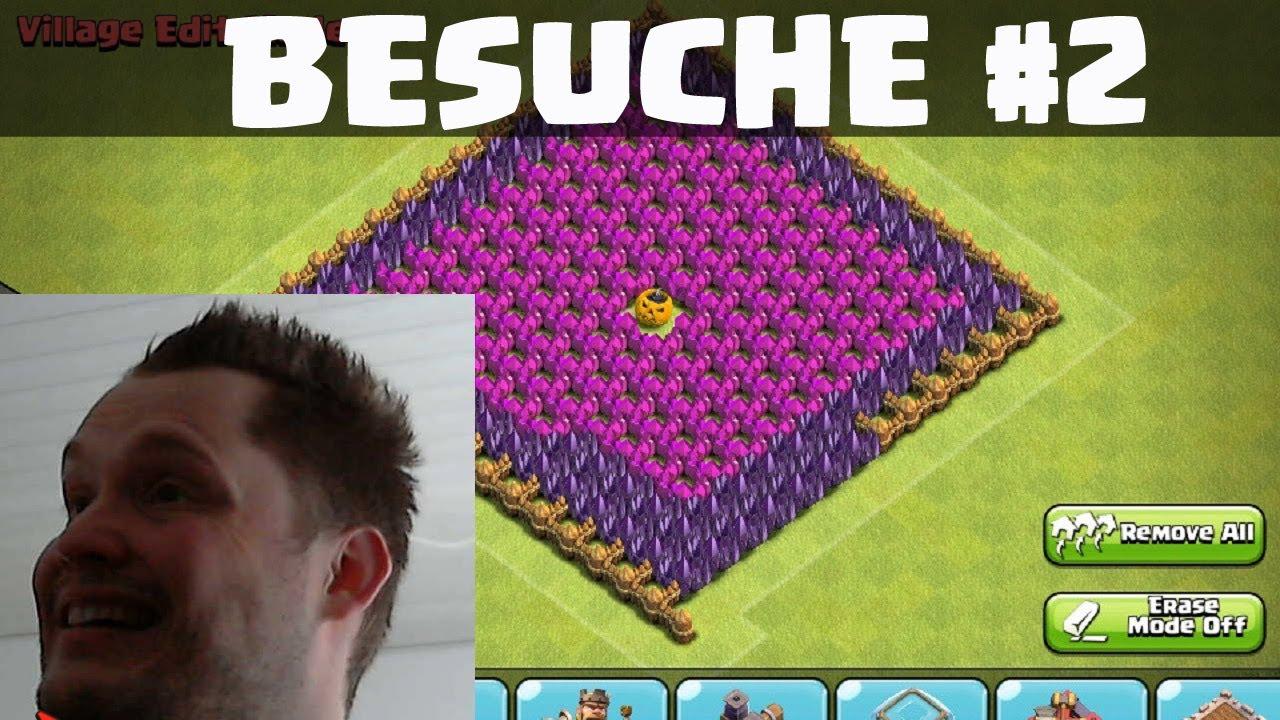 Clash of Clans || NEUE BESUCHE TEIL 2 || Lets Play COC
