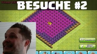 Clash of Clans || NEUE BESUCHE TEIL 2 || Let's Play COC [Deutsch/German HD]