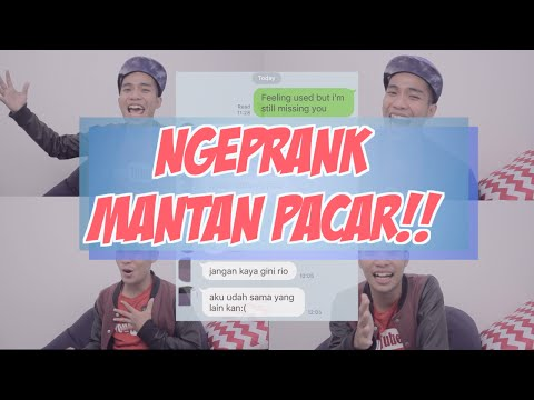 NGEPRANK MANTAN PACAR PAKAI LIRIK LAGU (Gnash - I hate you, I love you)
