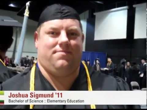 Newman graduate --Joshua Sigmund
