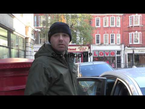 Karl Pilkington at Celebrity Video Sightings in London  K...