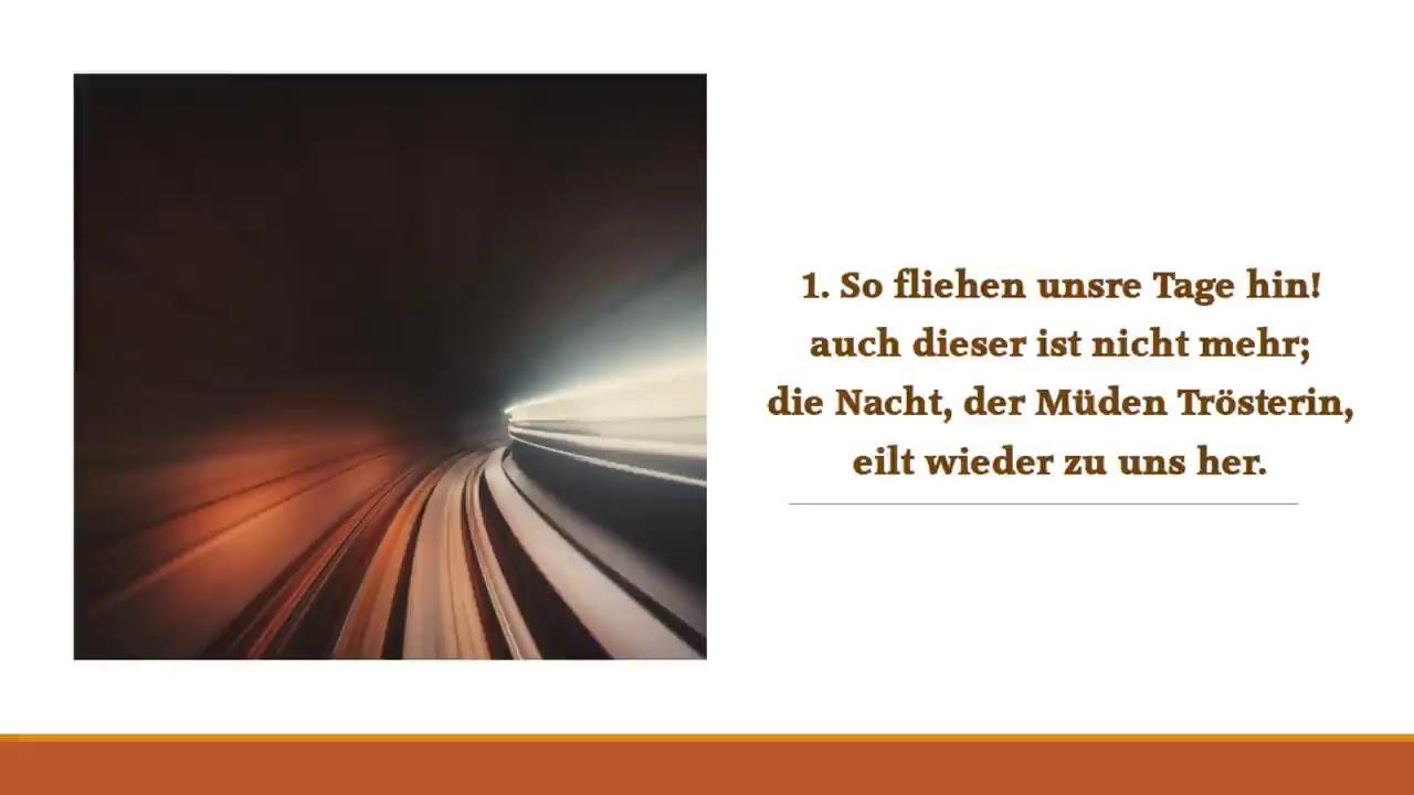 Download So Fliehen Uns're Tage Hin