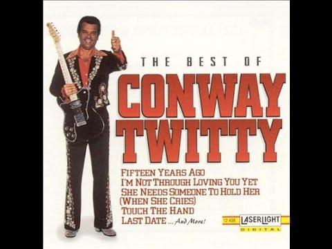 Conway Twitty - Tight Fittin' Jeans (Lyrics on screen)