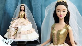 Crazy Rich Asians Princess CAKE!| Koalipops | Wedding Dress Cake