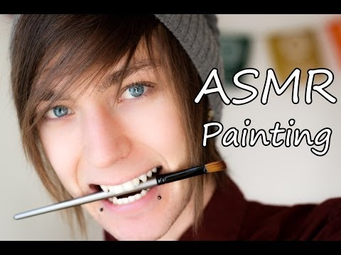 ASMR - Painting Relaxation! HD