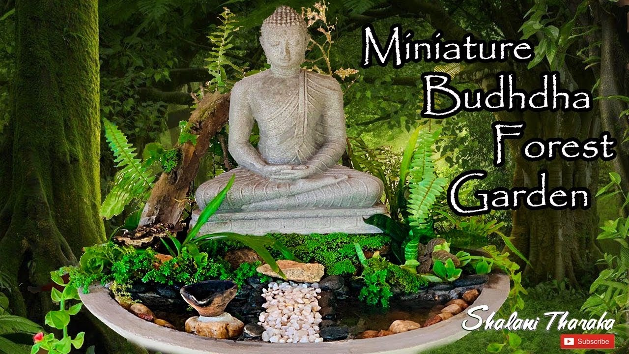 Miniature Buddha Forest Garden Youtube