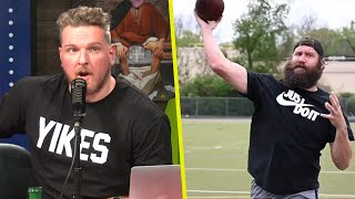 Pat McAfee Reacts To Ben Roethlisberger's Come Back Video