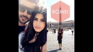 Follow me around ROME! | VLOG | Malvika Sitlani