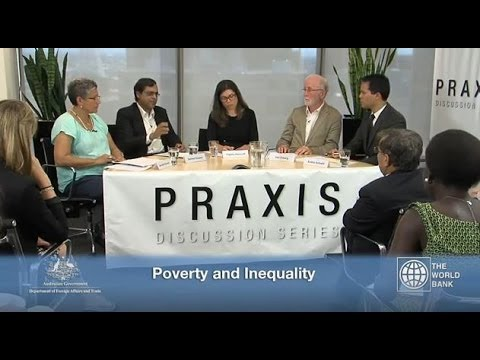 Praxis Discussion Series: Poverty and Inequality