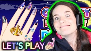 NAIL PAINTING VIDEO GAME! Let's play together