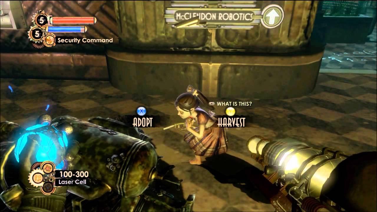 Let S Play Bioshock 2 Minerva S Den Part 3 Lancers And Plasmids