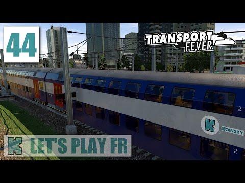 [FR] Transport Fever Libre | 1999 ► 1 MILLIARD | RER à double étage