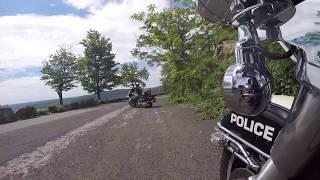 VLOG: Why Police Ride The Harley Davidson.
