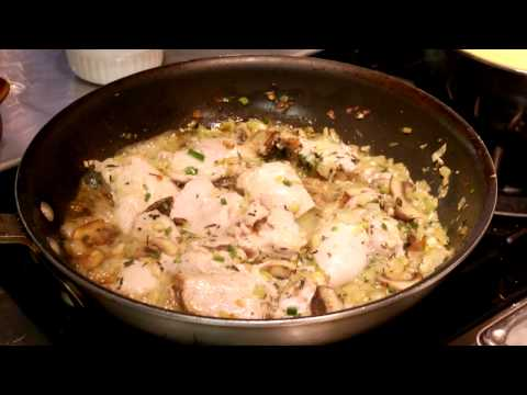 Baked Wild Rice With Chicken Recipe : Cooking Grains & Starches