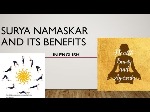 surya namaskar  learn set of 12 yoga asanas with complete