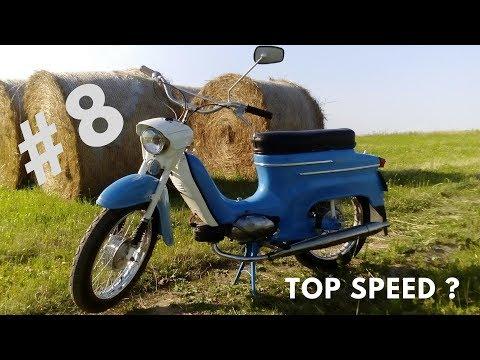 JAWA 50 - VLOG - # 8 - Poprvé Na Pincku ! + Testujeme TOP Speed