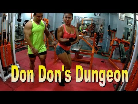 DonDon's Dungeon Philippines Gym Bodybuilding Ft Joseph my life in Metro Manila