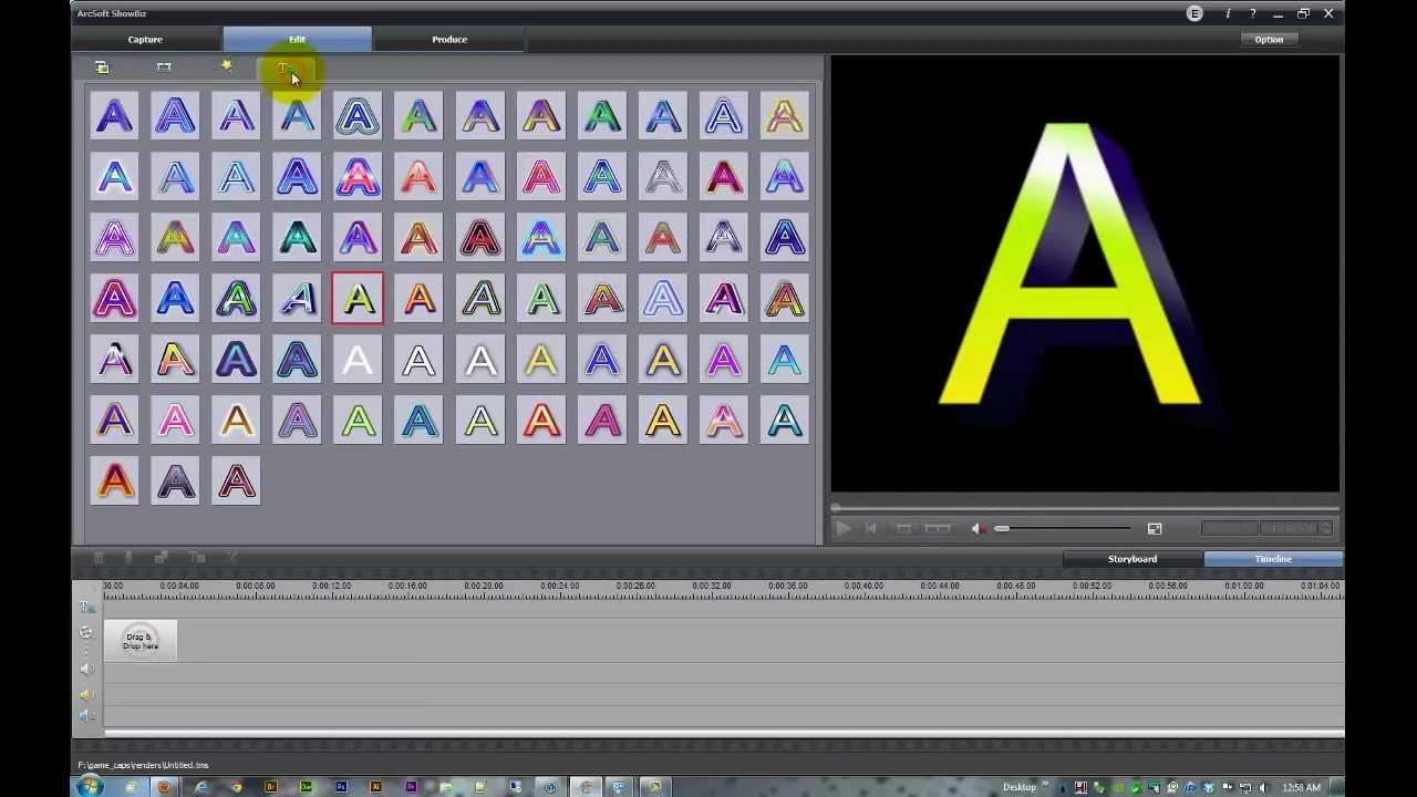 arcsoft showbiz 2.0 free download