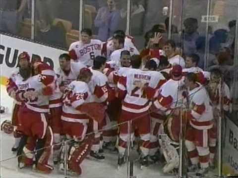 BU Hockey - 2006 Hockey East Championship game-winning goal