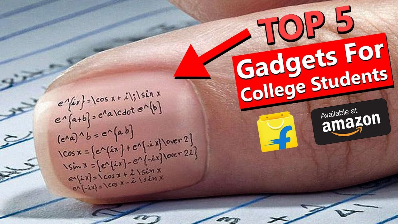 5 GADGETS Every COLLEGE STUDENTS Must Have in 2018✍FAST Studying Gadgets for EXAM & PROJECT⌛Watc