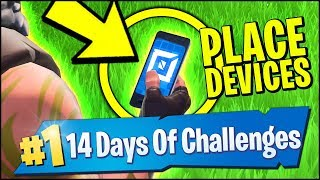 PLACE DEVICES ON A CREATIVE ISLAND CHALLENGE (Fortnite 14 Days Of Christmas)