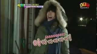 Jiyeon become Angry Dino @SBS's Heroes [Engsub]