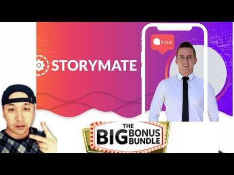StoryMate Review -Amazing EXCLUSIVE BONUS. http://bit.ly/2HwwXk6