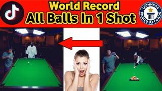 All Balls On Break World Record | 9 Ball Pool Golden Break