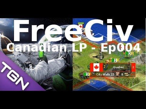 FreeCiv 2.4.0 [SDL Client] Canadian LP - Ep004