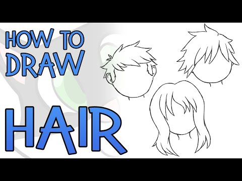 How To Draw Hair (Easy!)