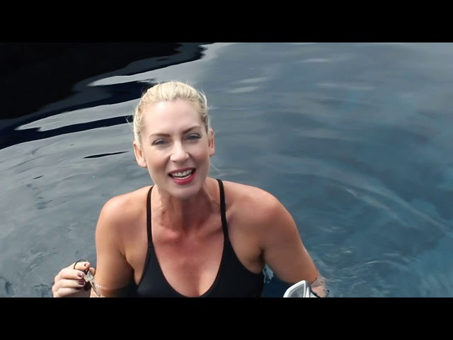 Challenge Thursday with Smile Breakfast - Lindy goes diving