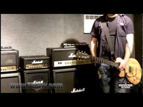 WINTER NAMM 2010 - MARSHALL | JMD-1 | AMP DEMO ROOM (Part 2)