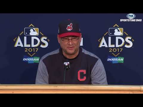 Terry Francona with a positive update on Michael Brantley | 2017 ALDS