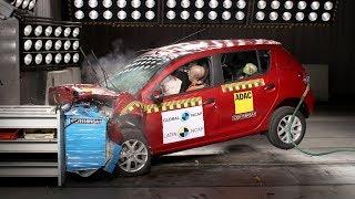 Renault Sandero / Logan Crash Test Latin NCAP (2 Airbags)