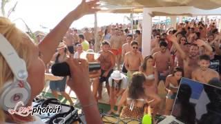 19/07/2015 - Lido ElCaribe - Dj Polina Buzanova - Sunday in the Famous Beach
