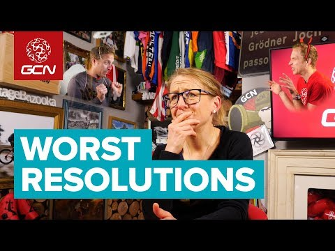 5 Worst New Year's Resolutions For Cyclists