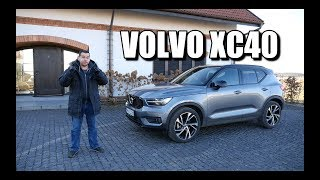 Volvo XC40 SUV (ENG) - Test Drive and Review