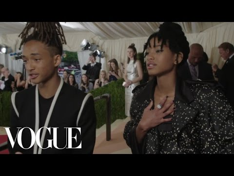 Jaden and Willow Smith on How They Define Creativity | Met Gala 2016