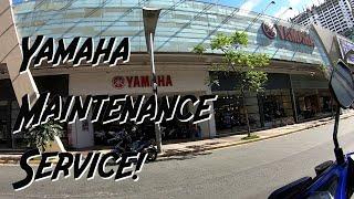 YAMAHA SIRAIN DAW! Yamaha 3s First Service Experience (Aerox First Tune-up)