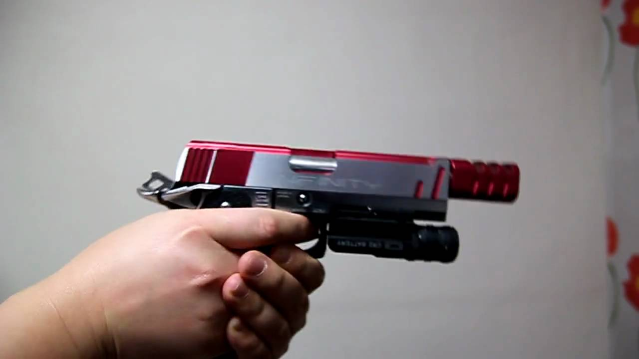 HI-CAPA 4.3 Tiki Custom full auto fire HD - YouTube