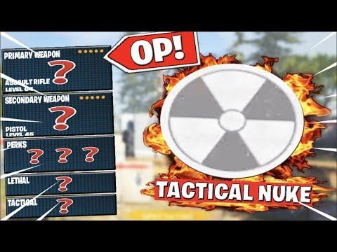 The UNSTOPPABLE TACTICAL NUKE CLASS SETUPS..