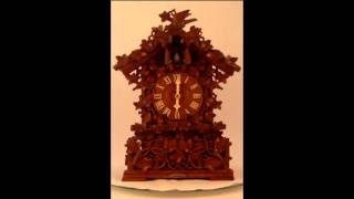 Antique Austrian Cuckoo Clock. Circa 1880
