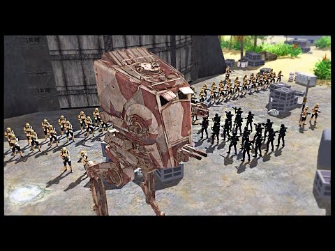 New Imperial Beach Troopers - Battle of Scarif | Men of War Assault Squad 2 Star Wars Mod Gameplay