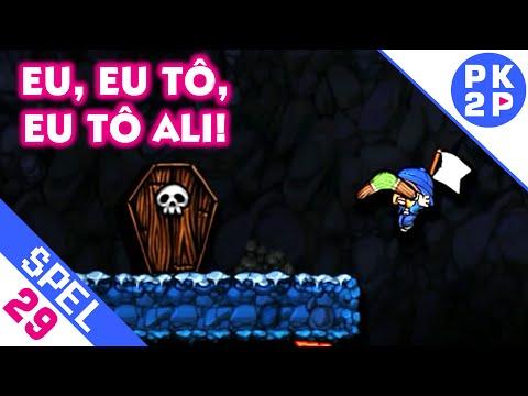 Eu, eu tô, eu tô ali! Spelunky#29 Multiplayer Local (Adventure/Deathmatch)