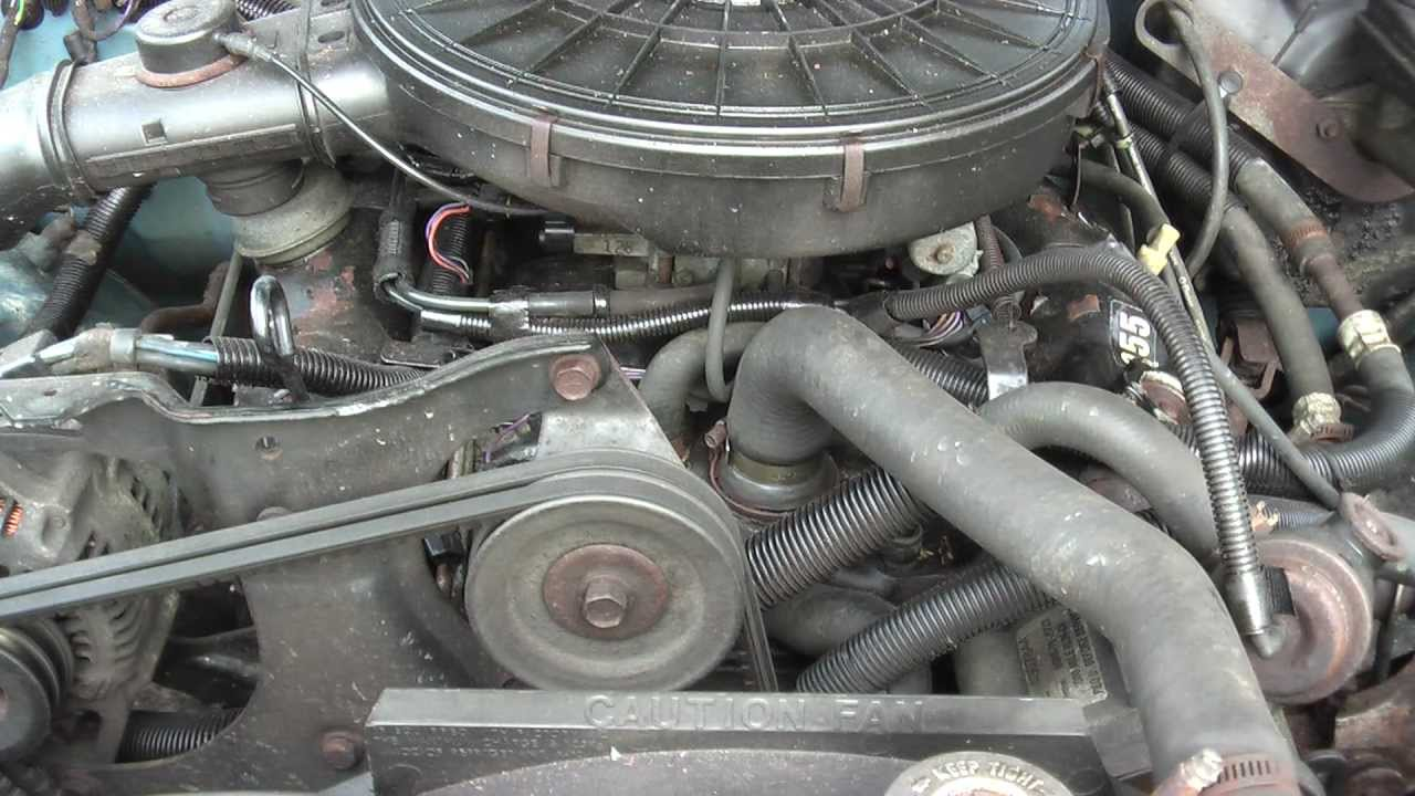 Ford 1 9l Engine Diagram 1988 Dakota 3 9l Start Up Problem Egr Youtube