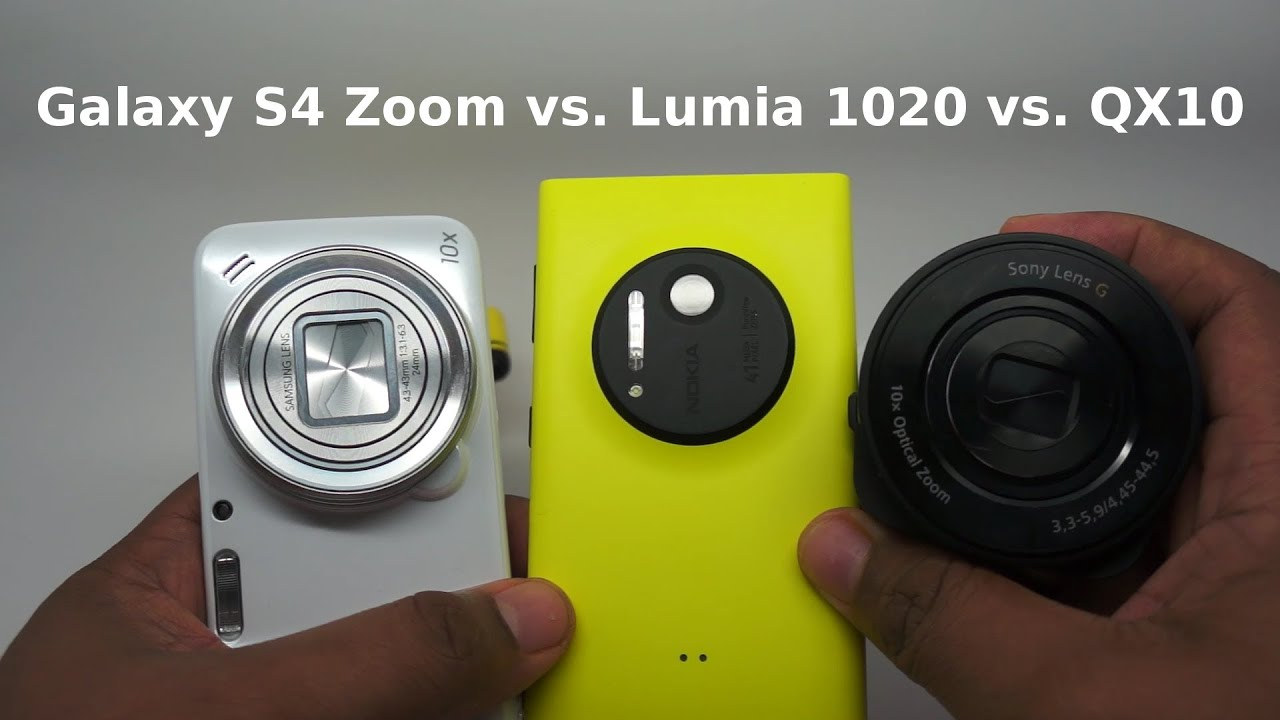 Samsung S4 Zoom Vs S4 Galaxy S4 Zoom Vs Lumi...