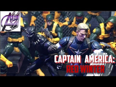Captain America: RED WINTER [Stop Motion Film] Cap vs Red Skull (Road to Infinity)