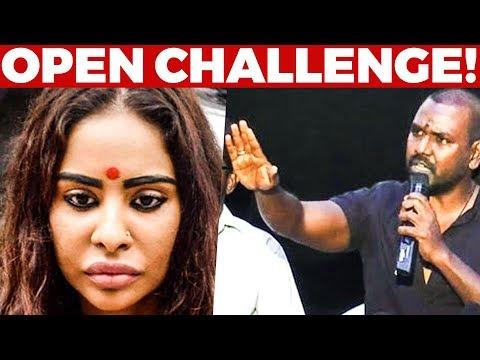 Raghava Lawrence Open Challenge to Sri Reddy!