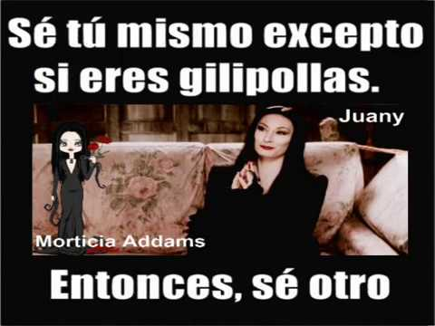 Frases Morticia Addams 2 Youtube