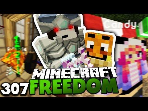 PDIZZLE SPRITZT SICH AWESOME! & CANDY + MAUDADO= LOVE?! ✪ Minecraft FREEDOM #307 DEUTSCH   PALUTEN